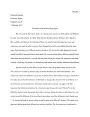 persuasive outline essay on aliens katelynn murphy specific  4 pages compare and contrast english comp women rights