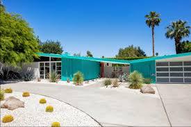 Palm Springs Garden Design The Mid Century Modern Design In Palm Springs