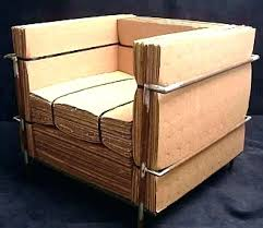 how to make cardboard furniture. Recycled Cardboard Furniture Modern Recycling By How To Make R