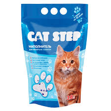 """<b>Наполнитель</b> для кошачьего туалета """"<b>Cat</b> Step"""", <b>силикагелевый</b> ..."""