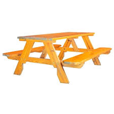 picnic bench wood where to find wood picnic bench 6 in childrens wooden picnic bench with