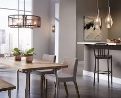Captivating 43575PN Kichler Titus 42475NIMER Everly Dining Design Inspirations