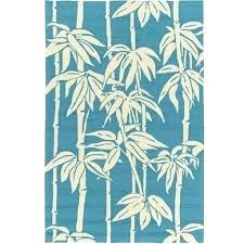 peacock blue tropical outdoor rug rugs in prepare patio palm tree