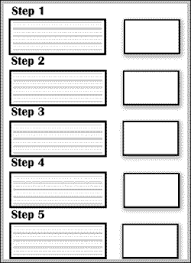 Writing Instructions Template Procedural Writing Template With Editing Checklist By Kristina