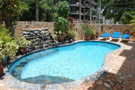 backyard designs with pool. Tropical Pool Backyard Designs With