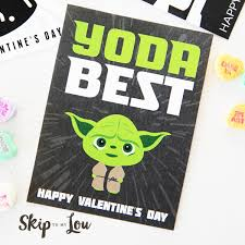 Current price $12.97 $ 12. The Best Free Printable Star Wars Valentines So Cool Skip To My Lou