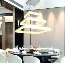 appealing led dining room lighting led dining room chandelier dining led rectangle pendant lamp led chandeliers