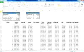 Mortgage Excel Template Mortgage Excel Template Excel Mortgage