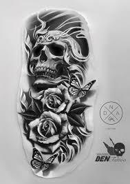 Sketchbook Sketchtattoo Tattoodesigns Tattoodesignarm Skull