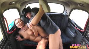 Female Fake Taxi Women in Charge of Fake Taxi