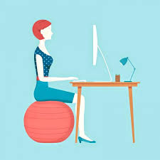 exercise ball office chair reviews um size of desk using exercise ball office chair image balance