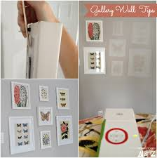 gallery wall tips picture hanging tips