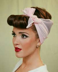 50 s house wife makeup and hairstyle