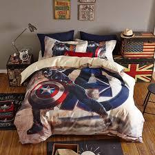 homebedding setsmarvel captain america bedding set twin queen size 45 1 2