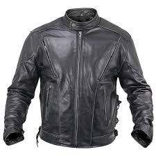 xelement mens reflective evil triple flaming skulls design motorcycle vest with straps