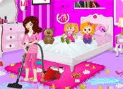 barbie room cleanup barbie room cleanup game online