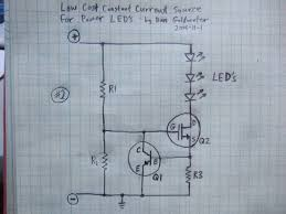 high power led driver circuits 12 steps pictures constant current source tweaks 2 and 3