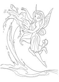 State Fair Coloring Pages At Free Printable Water Fairy Coloring