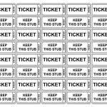 Raffle Ticket Sheets Free Printable Raffle Tickets Free Printable ...