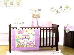levtex baby elise crib bedding owl set night 5 piece be