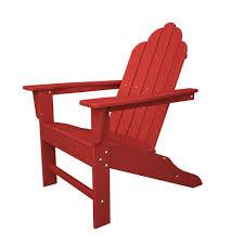 plastic adirondack chairs lowes. Long Island Sunset Red Plastic Patio Adirondack Chair Chairs Lowes T
