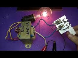 make inverter 12v to 220v 200w, simple circuit diagram, ( use 12 0 220V Motor Wiring Diagram make inverter 12v to 220v 200w, simple circuit diagram, ( use 12 0 12 transformer ) youtube