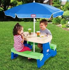 Amazoncom Outdoor Furniture Toys U0026 Games Chairs Picnic Tables Childrens Outdoor Furniture With Umbrella