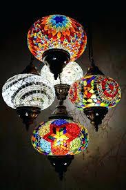 mosaic chandelier color burst snazzy bazaar turkish india 5 globe