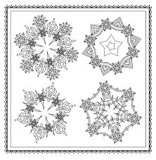 Amazon Com Winter Magic Beautiful Holiday Patterns Coloring Book