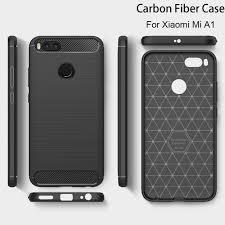 Brushed Silicone <b>Carbon Fiber</b> Cases for Xiaomi Mi A1 Mi5X ...
