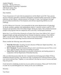 Cio Cover Letter 66 Cover Letter Samples And Correct Format To Write It