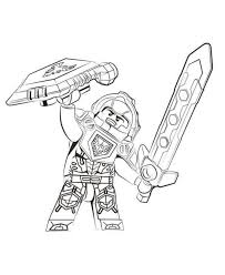 Nexo Knight Coloring Pages Awesome Lego Nexo Knights Coloring Pages