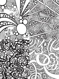 Small Picture Free Abstract Doodle Art Coloring Page Coloring Coloring Pages