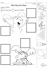 If You Give A Moose A Muffin Coloring Page Classroom Activities
