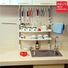 hanging dish drying rack tableware tool storage wall mounted south africa