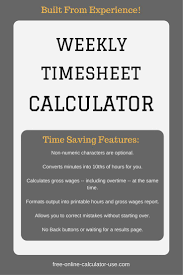 timesheet calculator with lunch weekly timesheet calculator with lunch break millennial mindset