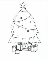 Small Picture Plain Christmas Tree Coloring Page Coloring Coloring Pages