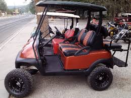2010 copper colored club car precedent brand new batteries custom 12 inch rims and 23 inch tires visit page learn more