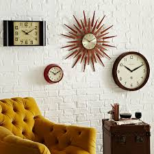 Classy Design Living Room Wall Clocks Marvelous Decoration Living
