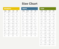 Nike Junior Shoes Size Chart 56 Veracious Nike Junior Size Guide