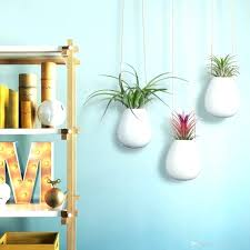 white wall planter wall planters outdoor plastic g pots white ceramic planter mounted garden blue and white wall planter