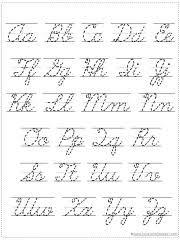Online Cursive Chart 50 Memorable Cursive Writing Chart Free