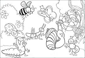 insect coloring pages insects free a pdf