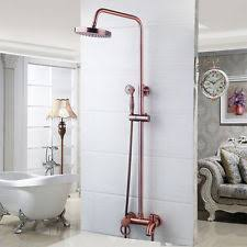 Copper shower fixtures Oil Rubbed Us Bathroom 8 Ebay Copper Shower Ebay
