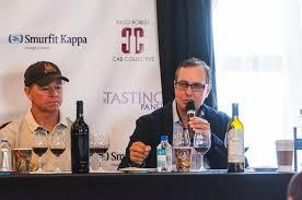 DAOU Vineyards & Winery   Mike Mooney of Chateau Margene and Daniel Daou of  DAOU Vineyards & Winery at a Panel Tasting & Seminar at CAB…   Paso robles,  Seminar, Cab