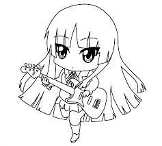 Anime Chibi Coloring Pages Anime Colouring Pages Free Coloring Pages