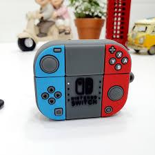 Case Ốp Silicon Bảo Vệ Cho Apple AirPods Pro - Máy Chơi Game Nintendo  Switch - Hộp đựng - Túi đựng phụ kiện Thương hiệu OEM