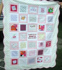 Baby Clothes Quilt | Our one day little man, or little princess ... & Baby Clothes Quilt, Memory Quilt, Heirloom for Your Child Handmade from  his/her Baby Clothes, Custom Listing via Etsy. Adamdwight.com