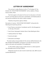 Event Planning Services Agreement Doc Bus Contract Andrea Bonifacio Academia Edu