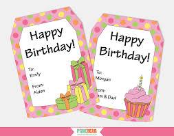 Birthday Tags Template Birthday Gift Tag Template 0 Elsik Blue Cetane